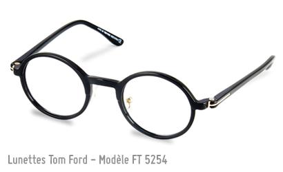 lunette de vue Tom Ford 5254 en noir
