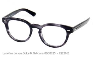 lunette de vue Dolce & Gabbana pour femme 0DG3225