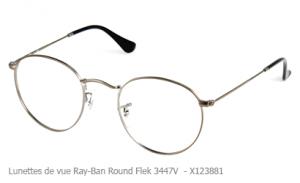 Lunette de vue Ray-Ban Roundflex 3447V