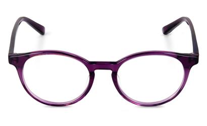 Lunette Max & Tiber rond couleur violet