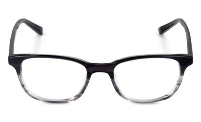 Lunette Max & Tiber rectangulaire noir et gris écaille