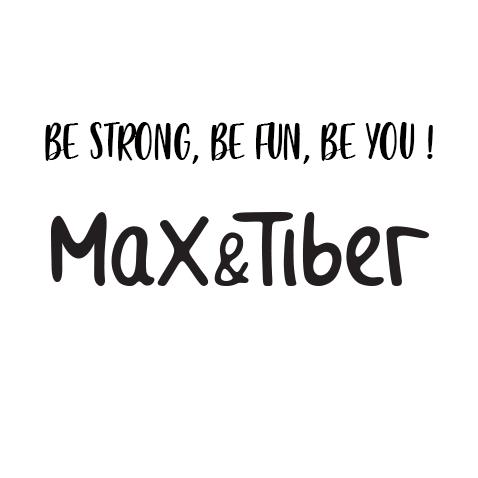Logo et claim Max & Tiber