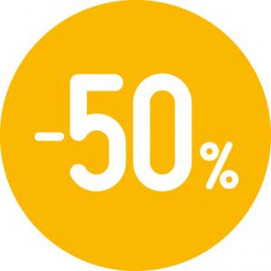 Soldes -50% sur les montures optiques et solaires