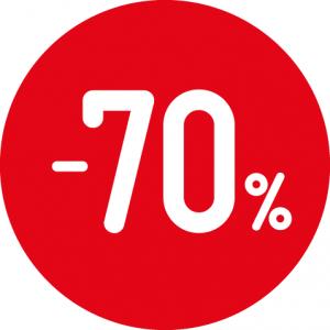 Soldes -70% sur des montures optiques et solaires